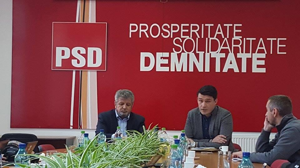 PSD Sebastian Raducanu Florin Birsasteanu