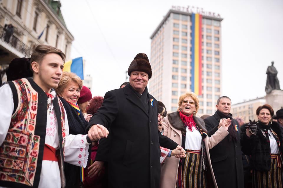 Klaus Iohannis la Iasi 2