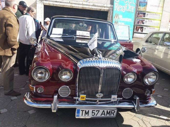 limuzina regina angliei