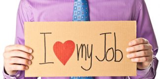 angajat fericit