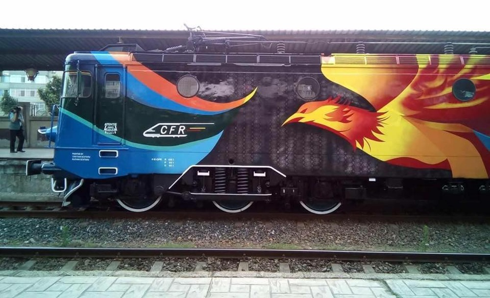 locomotiva pasarea maiastra