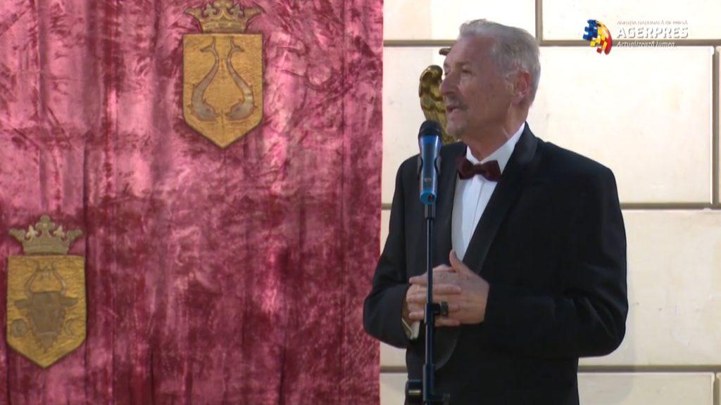 Fostul președinte al României Emil Constantinescu