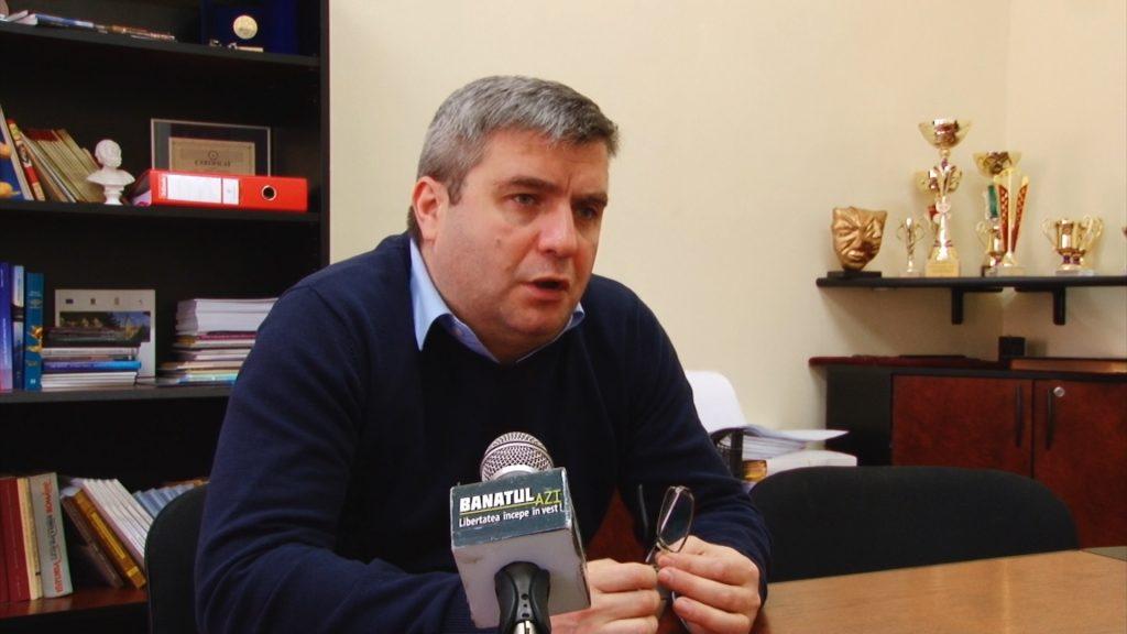COLEGIU BĂNĂȚEAN--INTERVIU CU SORIN IONESCU DIRECTOR COLEGIU BANATEAN.Still005