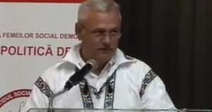 dragnea-costum-popular