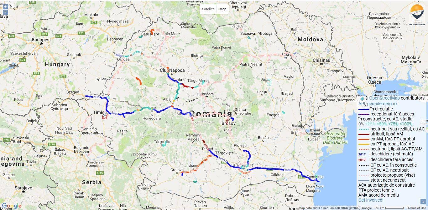 Totul Despre Infrastructura Si Proiectele Rutiere Din Romania