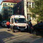 Ambulanța a intervenit de urgență pentru o persoană tăiată (1)