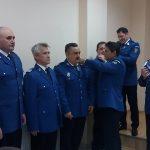 Un ofițer și șase subofițeri ai IIJJ Caraș-Severin au fost înaintați în grad începând cu 1 Decembrie (1)