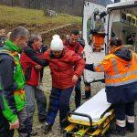 Salvamont Baile Herculane actiune de salvare in muntii Mehedinti (2)
