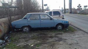 masini abandonate in timisoara