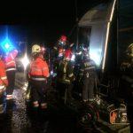 4Accident auto între un autotren și un utilaj de deszăpezire, în orașul Recaș