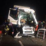 Accident auto între un autotren și un utilaj de deszăpezire, în orașul Recaș2