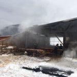 incendiu depozit de lemn Cuptoare (2)